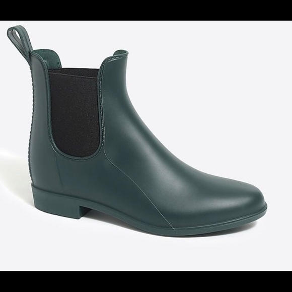 size 40 wide selection of designs double coupon J.crew mercantile Chelsea rain boots size 7